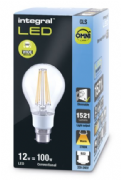 100W Traditional Filament LED | Dimmable Bulb | Warm White | Integral LED